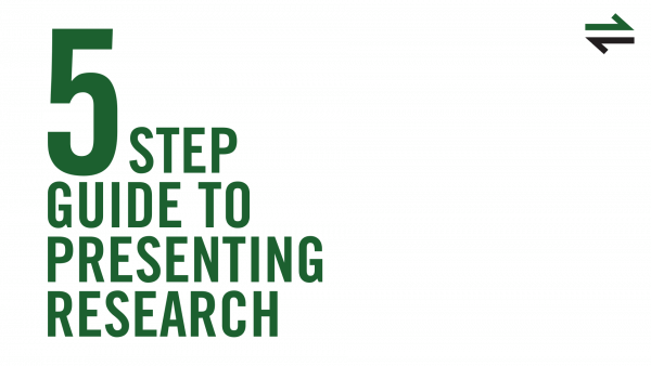 5 step guide to presenting research